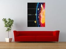 ROCK BAND MUSICA RADIOHEAD IN RAINBOWS GIGANTE art print poster pannello nor0331