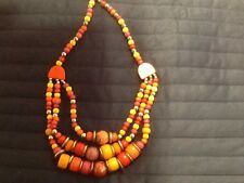 ANTHROPOLOGIE Statement Bead Bib Necklace J.o.i.n The Chic Crew! DOT