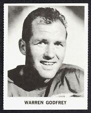 1965 COCA-COLA COKE WARREN GODFREY EX-NM DETROIT RED WINGS HOCKEY CARD