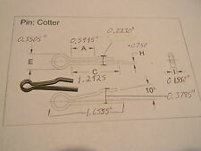"COTTER PINS 3//16 X 1-1//2/"" STAINLESS 18-8 01096 4 PAC MARINE BOAT HARDWARE PROP"