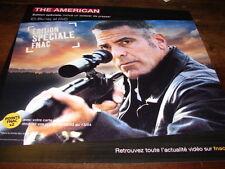 GEORGE CLOONEY - PLV en papier 30x30 THE AMERICAN !!!!!!!!!!!!!