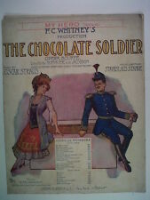 song sheet OSCAR STRAUS The Chocolat Sodier, My Hero