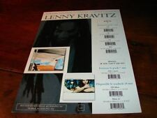LENNY KRAVITZ IF YOU CAN'T SAY NO!RARE FRENCH PRESS/KIT