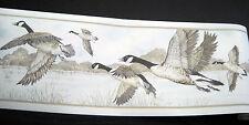 International Pre-Pasted Wallpaper Border Vinyl Canada Geese Waterfowl NI7418