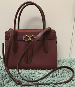 KATE SPADE New York, TOUJOURS Medium Satchel, Cherrywood Leather,NEW With Tag