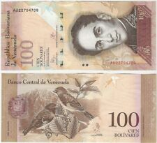 Venezuela 100 Bolivares 2015 P-93i UNC Uncirculated Banknote - Bird