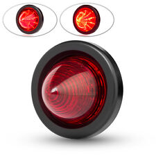 "Cafe Racer Motorbike Motorcycle LED Stop Tail Light Classic Retro Look 2"" 50mm"