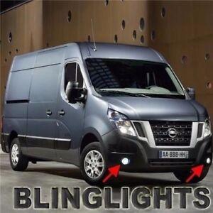 Non-Halo Fog Lamp Driving Light Kit + Harness for Nissan NV Cargo Passenger Van