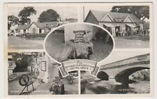 Dumfriesshire postcard - Greetings from Gretna Green (Multiview) (A139)
