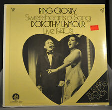"""Bing CROSBY & Dorothy LAMOUR Sweethearts 12"""" VINYL LP Record Sealed Tower Record"""