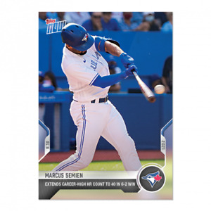 2021 Topps Now #825 Marcus Semien Toronto Blue Jays PRESALE