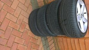 car wheels with tyres audi a5