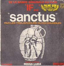 45 T SP B.O.F (O.S.T) *IF...SANCTUS* (PALME D'OR FESTIVAL DE CANNES 1969)