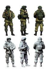 1/35 Modern Masked Russian Soldier Resin Model Kit (1 Figure) (E4)