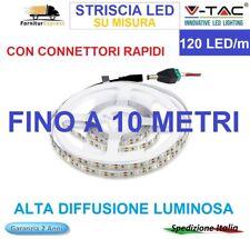 STRISCIA STRIP LED 120 Led x Metro Bobina da 1/3/ 5 o 10 mt Pro VTac SMD