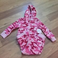 Juicy Couture Sweat Suit 2T Girls' Pink Camo NWT