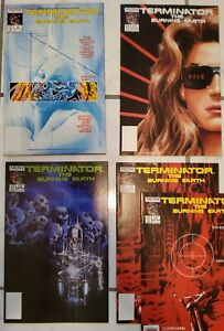 """TERMINATOR """"Burning Earth""""(first Alex Ross) """"NM"""" #1 #2 #3 and (2)#5s upc (no #4)"""