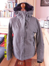 McKINLEY Damen Outdoor Jacke Multifunktions-Jacke 38 grau-lila Übergangsjacke!