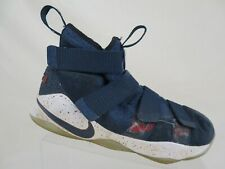 39d6f4e298c61 NIKE Lebron Soldier 11 XI Blue Sz 8 Men Basketball Shoes