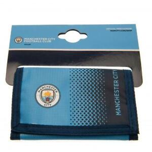 Manchester City Man City FC Nylon Wallet OFFICIAL LICENSED PRODUCT GIFT