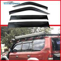 for Landcruiser Prado 90 Series Weather Shields Window Visor Weathershield 96-02