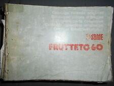 Same FRUTTETO 60 1987 : catalogue de pièces