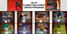 10x ITALO LP VINYL Lot RADIORAMA-SAVAGE-LASLO-ROSS-MARTINELLI-ICE-MILLER-FANCY