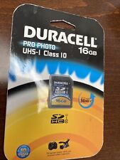 Duracell Pro Photo 16GB Memory Card***Brand New***
