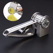 Cutter Kitchen Tool Manual Fruit Vegetable Stainless Steel Grater Shredder New