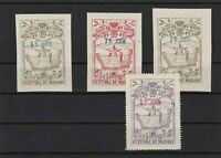 SAINT DIE DES VASGES MUSIC FESTIVAL 1913  OVERPRINT STAMPS MOUNTED MINT REF4400