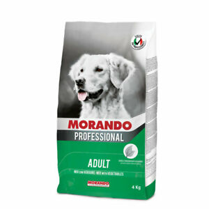 MORANDO MIGLIOR CANE VERDURE 4 KG PROFESSIONAL crocchette cane ottima qualità