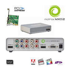 Scheda Matrox mxo2 Mini Max I/O-Box F. desktop più velocemente codificatore h.264 mp4