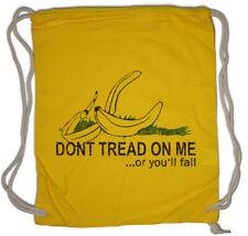 Don't Tread On Me III Turnbeutel Gadsden USA US Flag Banana Fun Banane Flagge