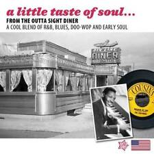 A LITTLE TASTE OF SOUL Various NEW & SEALED R&B BLUES DOO WOP & EARLY SOUL CD
