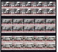 RALPH DePALMA 'AMERICAN LEGEND' SET OF 3 MINT VIGNETTE STAMPS 2