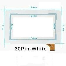 "Capacitive Touch Screen Digitizer 7"" inch WHITE  Panel TPT-070-179 TPT-070-134"