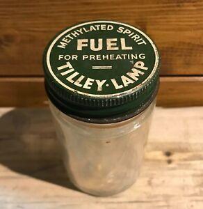 Vintage Tilley Lamp Methylated Spirits Preheater Jar - Spare Part Good Condition