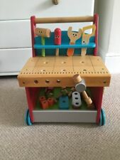 Early Learning Centre Wooden Baby Walker/ Tool Bench