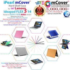 "NEW mCover® Hard Case for 14"" Lenovo Ideapad FLEX 5-1470 2-in-1 Ultrabook Laptop"