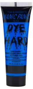 Electric Sky Blue Dye Hard Manic Panic Styling Gel 1.66 oz Washable Color
