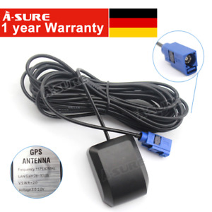 Fakra GPS Navi Antenne für VW RNS Audi Opel CD 70 Benz Comand APS Radio Adapter