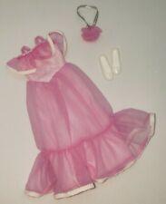 Vintage Skipper 1982 Wedding Of The Year Flower Girl #5746 Pink Dress Set