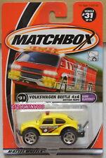 MATCHBOX 2000 #31 VOLKSWAGEN BEETLE 4X4 YELLOW