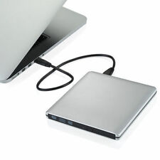 Slim External USB 3.0 DVD RW CD Writer Drive Burner Reader Player For Laptop PC