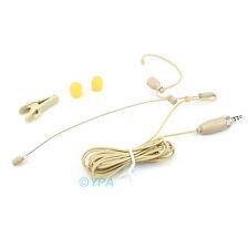 YPA ME2-C4SE Beige EARSET MIC FOR SENNHEISER Wireless Microphones Single-Ear