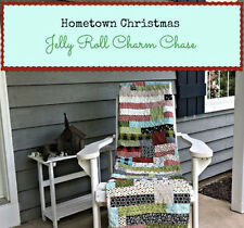 Moda HOMETOWN CHRISTMAS Jelly Roll Charm Chase Quilt Kit  + binding + pattern