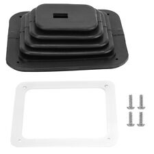 Rubber Car Gear Shift Dust Cover Shifter Boot Replacement w/ 4 Screws for GM350