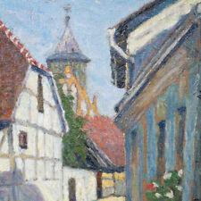 Neutert Edmund 1891-1976 Frankfurt a.d. Oder STADT Kirche WO ?? Impressionismus