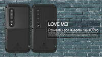 LOVE MEI Metall Silikon Housing Schutzhülle Case Cover für Xiaomi Mi 10/10 Pro