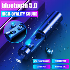 8D Stereo bluetooth 5.0 Headset TWS Wireless Earphones Twins Earbuds Headphones